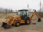 2007 CASE Model 580 Super M, Series II, 4x4 Tractor Loader Extend-A-Hoe, s/n N6C412982