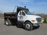 2002 FORD Model F-650 Single Axle Dump Truck