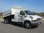2003 GMC Model 5500 Single Axle Mason Dump Truck