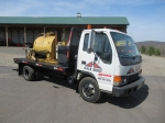 2005 ISUZU Single Axle Tack Truck