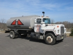 1989 MACK Model R690T Single Axle Water Truck