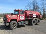 1977 MACK Model R686ST Tandem Axle Flatbed Water Truck