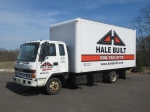 1997 ISUZU Model FRR Cab Over Van Body Truck