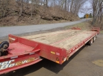 2008 EAGER BEAVER Model 20XPT, 20 Ton Tandem Axle Tag-A-Long Trailer