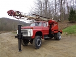 FORD Model F-700, 4x4 Single Axle Cable Tool Drill Rig